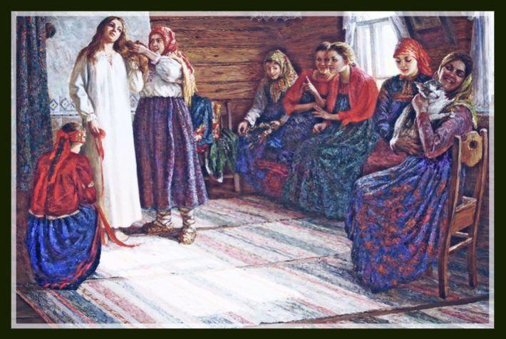 Реферат Обрядовая поэзия УЧИМСЯ ВМЕСТЕ Считалось что в этот день ложится спать Домовой и чтобы он хранил тепло в избе проводили обряд запекание углов Пекли маленькие блинцы и первый блинец